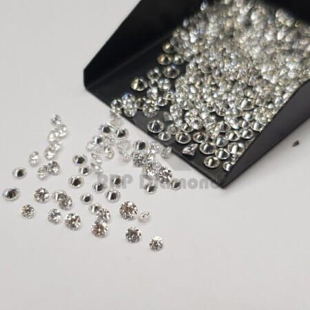 7 to 13 pointer J/K Color VS Purity 2.70 TO 3.20 MM (Eleven) Natural Diamonds