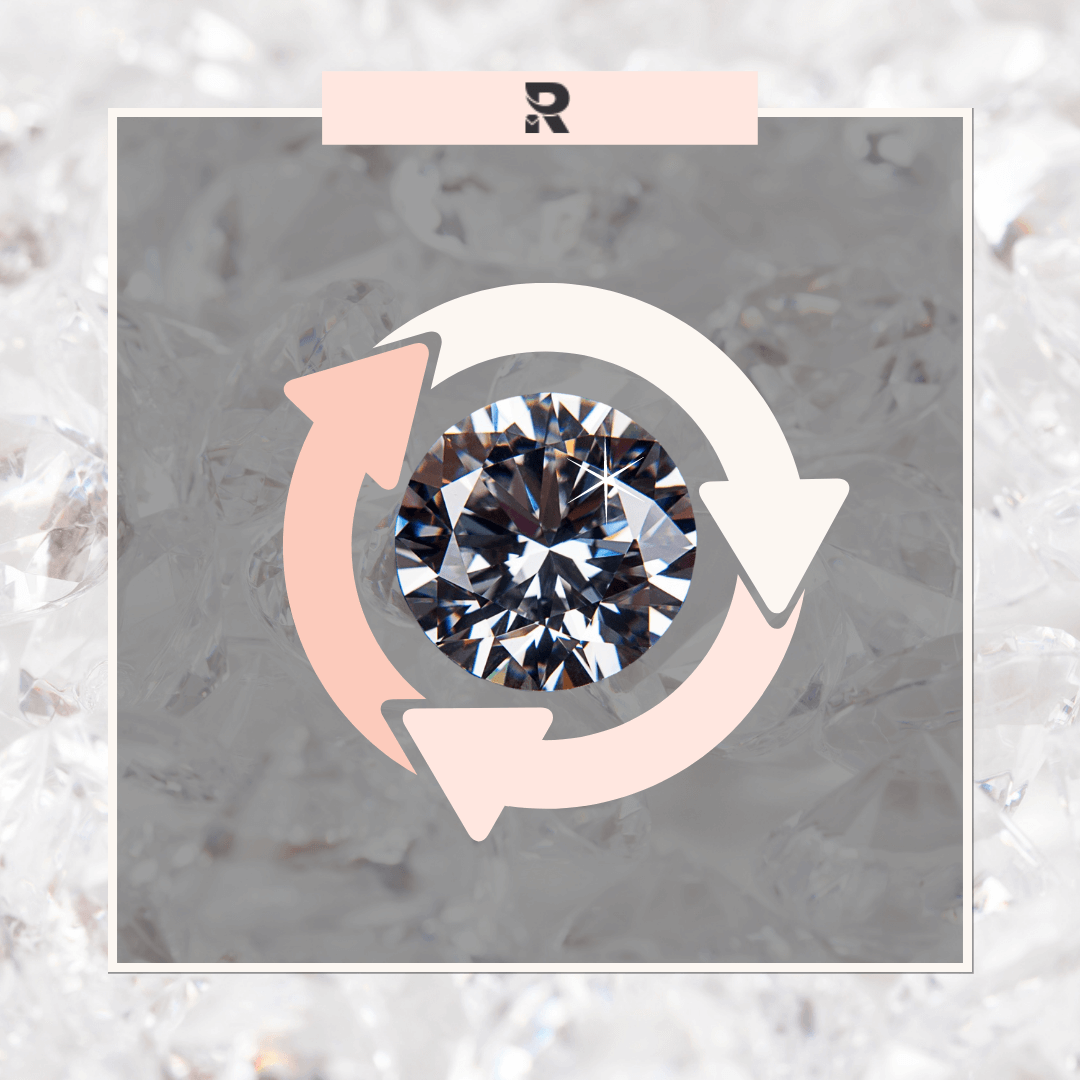 recycled diamond